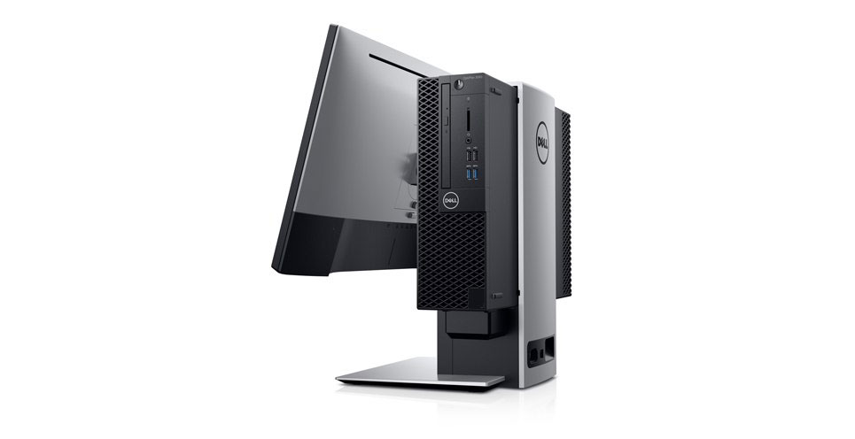 Dell Optiplex 3060 SFF with Monitor Stand