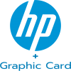 HP with VGA Card logo