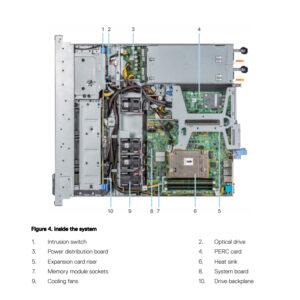 Dell-PowerEdge-R340-inside-Detail