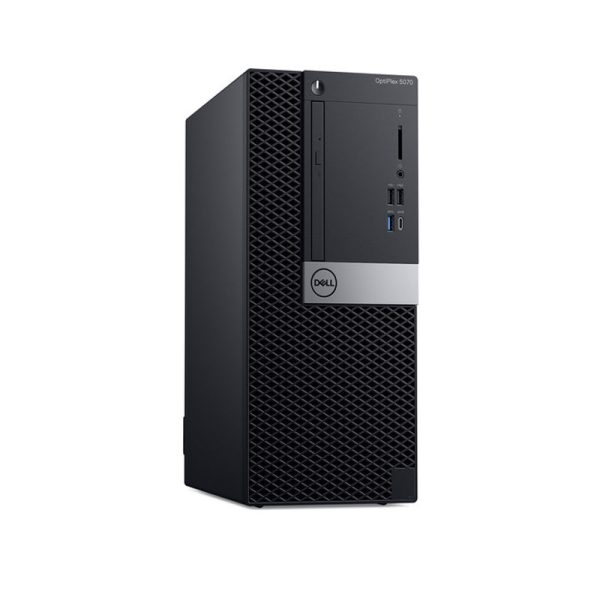 Dell-5070-MT-Front-Left-View